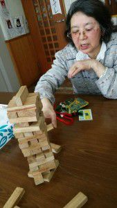 20150126ジェンガという積み木崩しゲームが密かなブームです。3