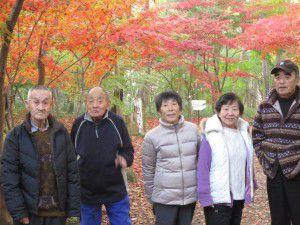 20151130新座市にある平林寺へ紅葉を見に行ってきました9
