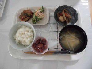 20150221野方の事業所では、ご飯に工夫を凝らしています。4