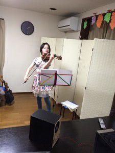 20141214やすらぎ邸では演奏会に力を入れています!3
