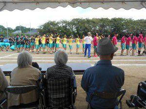 20151002杉並総合高校の体育祭の見学に行ってまいりました。3