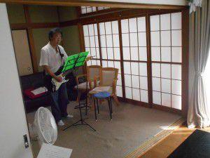 20150718ギター演奏会を開いて下さいます。3