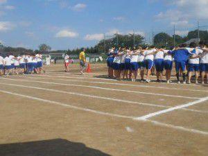 2014年9月27日の杉並総合高等学校様の体育祭1