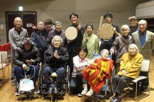 201503193つの事業所合同で、和太鼓演奏会を行いました!13