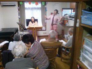 20141111やすらぎ邸下高井戸の演奏会3