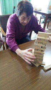 20150126ジェンガという積み木崩しゲームが密かなブームです。