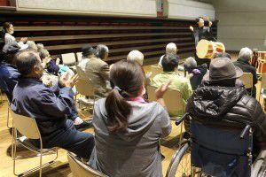 201503193つの事業所合同で、和太鼓演奏会を行いました!11