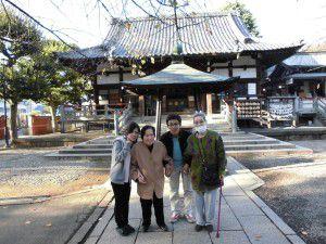 20141126新井薬師と新井天神北野神社へ行ってまいりました。1