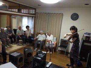 20150614やすらぎ邸では音楽イベントを強化しております。4