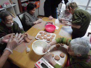 20150221野方の事業所では、ご飯に工夫を凝らしています。6