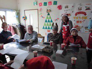 20141223近隣事業所と合同クリスマス会3