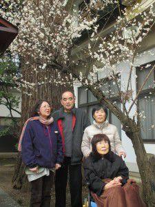 20150316近くの水天宮に梅を見に行って来ました。2