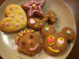 20150219クッキーと餃子作り5