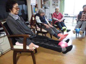 20151103今回は、ボールを使った体操を少しご紹介したいと思います☆5