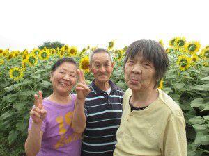 20150824清瀬ひまわりフェスティバルを観に行ってきました。