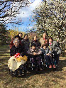 20150311小金井公園へ梅を見に散歩に出掛けました。4
