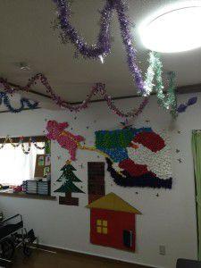 2014121012月の壁飾りです!4