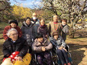 20150311小金井公園へ梅を見に散歩に出掛けました。