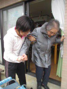 20150115花小金井で避難訓練を行ないました。3