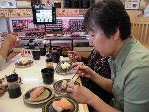 20151007連チャンで、念願の回転寿司へ行って来ました!3