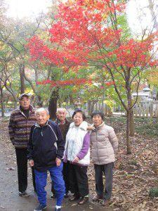 20151130新座市にある平林寺へ紅葉を見に行ってきました5