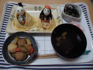 20150303今日は、3月3日ひな祭り☆4