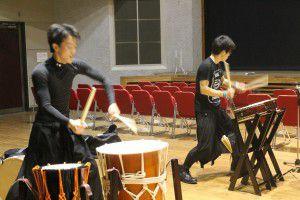 201503193つの事業所合同で、和太鼓演奏会を行いました!7